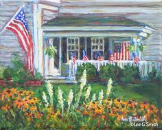 Paintings of Cape Cod Scenes by Lee G Smith