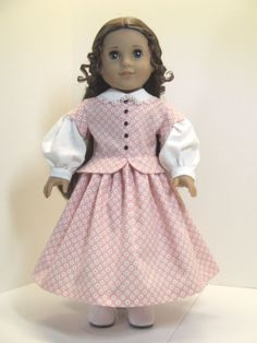 Civil War Era Dress for Marie Grace by agseamstress