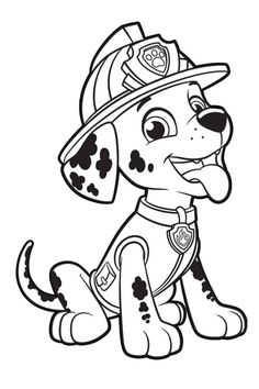 paw patrol chase coloring pages   paw patrol coloring