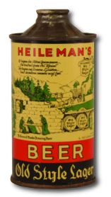 Old Heidlemann's beer can.