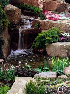 Punica Peyzaj » Hizmetlerimiz: Su ögeleri. Süs havuzları, göletler tasarım ve uygulaması