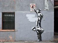 Truly an Art. http://banksy.co.uk/out.asp #graffitiart #bansky #graffitiartists