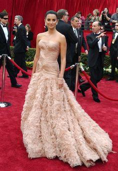 Penelope Cruz Oscar 2007 - Versace