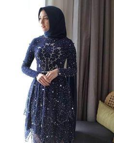 Kebaya Lace, Kebaya Hijab, Kebaya Dress, Kebaya Muslim, Hijab Gown, Kebaya Brokat, Muslim Dress, Model Kebaya Modern, Kebaya Modern Dress
