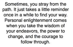 Realize it.
