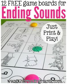 12 free ending sounds games