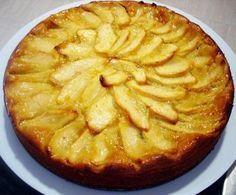 Tarta de manzana sin gluten y sin azúcar