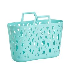 Pick up our Nestbasket by reisenthel for an easy shopper, or as clever storage! The turquoise is the perfect pop of color to any room. Shop Storage, Bag Storage, Storage Organization, Bathroom Organization, Classroom Organization, Decorative Storage Bins, Plastic Storage, Verde Tiffany, Tiffany Blue
