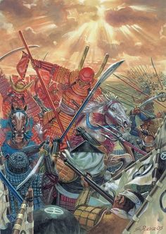"""Samurai battle"", Giuseppe Rava"