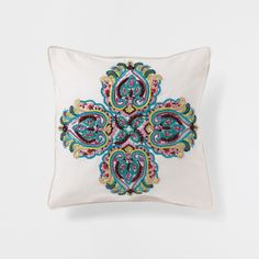 BEAD EMBROIDERY CUSHION - Decorative Pillows - Decor and pillows | Zara Home United States