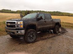 Mudder vehicles - lifted Chevrolet truck