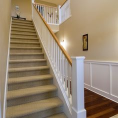 Carpeted Stairs Design Ideas, Pictures, Remodel, and Decor - page 7