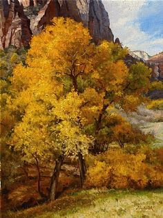 Pure Gold by Mark Haworth Oil ~ 24 x 18