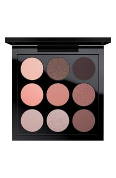 Dress up your eyes to the nines with MAC's  'Dusky Rose Times Nine' Eyeshadow Palette.