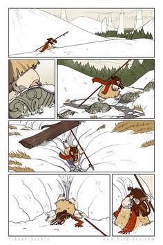 Bird Boy page 09 by Nhaar on DeviantArt