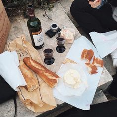 Simple French picnic