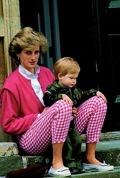 Princess Diana & Prince William.She is sadly missed.Please check out my website thanks. www.photopix.co.nz