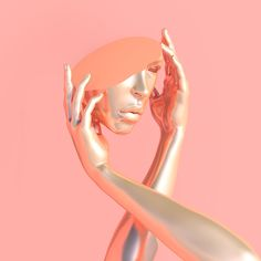 Blake Kathryn Step Into A Playfully Disorienting Pastel Digital Art World | The Creators Project