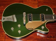 1957 Gretsch Duo Jet, Rare Cadillac Green