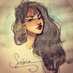 Still dreaming of you ✨ Selena Quintanilla Perez, Selena Gomez, Selena Pictures, Cute Coloring Pages, Queen, Dreaming Of You, Sketches, Animation, Fan Art
