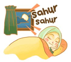 Annisa Hijab Girl : Ramadhan Edition by D-Day Islamic Images, Islamic Love Quotes, Islamic Pictures, Assalamualaikum Image, Ramadhan Quotes, Ramadan Day, Quotes Lucu, Islamic Cartoon, Chat App