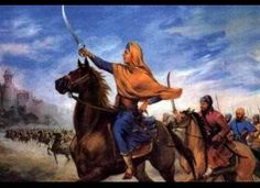 The First Woman Commander-in-Chief : Rani Sada Kaur became a young widow when her husband was killed in a battle among Punjabi chiefdoms. She used the moment to transform herself into a woman-warrior, donning a high turban and weaponry. She commanded battles and laid the foundation for the Sikh empire, which spanned the Punjab from 1799 to 1849. She closely advised her son-in-law as he became the first Maharaja of the new empire, Maharaja Ranjit Singh.