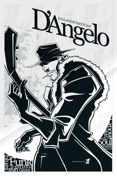 D'Angelo Soul-Funk'Matician by #DAngelo braeonArt.deviantart.com on @deviantART
