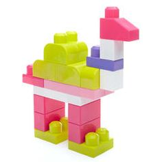 Mega Bloks Big Building Bag - Pink - Kmart