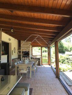 Interior And Exterior, Interior Design, Outdoor Kitchen Design, Patio Roof, Sauna, Roof Design, Pallet Furniture, Future House, Backyard