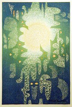"""""""Drowning"""" by Toshi Yoshida, 1964."""