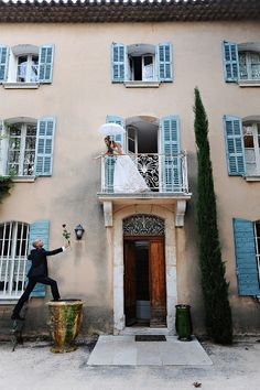 french riviera wedding. adorable wedding shot!