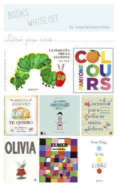 Fácil y Sencillo: Libros Bonitos para Niños (y no tan niños) I Love Books, My Books, Childrens Ebooks, Learning For Life, Health Unit, Baby Health, Sixth Grade, Book Lists, Literature