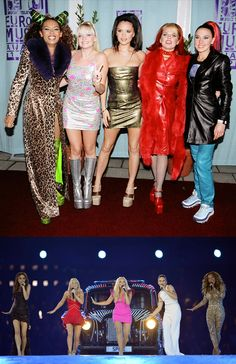 Spice up your life! #spicegirls then and now