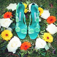 Manolo Blahnik - Floral Design #spring #manoloblahnik #gorgeous