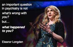 #mentalhealth #creatingchange #schizophrenia hearing voices. Eleanor Longden.