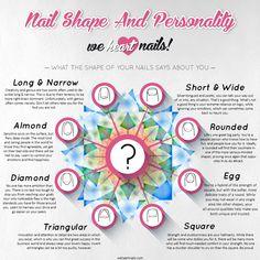 nail shapes personality