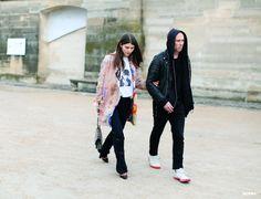 Ursina Gysi & Dominic Hadyn Rawle at Paris Fashion Week F/W 2014-15