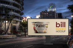 Bill Board Mock-Up by alexvisual on @creativemarket