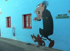 The Smurf Village,Juzcar, Malaga, Spain #TheSmurfVillage #Juzcar #Malaga #Spain
