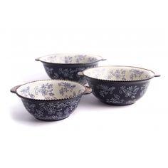 temp-tations® by Tara: temp-tations® Set of 3 Floral Lace Nesting Bowls