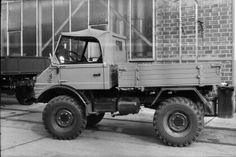 Mercedes-Benz Unimog U40 (Bm.421.122) '1966–68