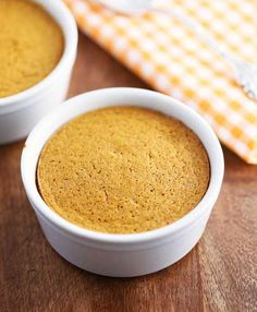 """Butternut Squash Souffle   Individual portions eliminate the """"last bite"""" debate--it's all yours!"""