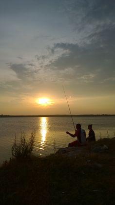 Fishing on falcon lake in Zapata Texas