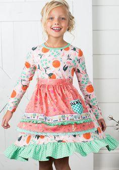 Sweet Clementine Dress MJC W/ JOANNA GAINES - Matilda Jane Clothing