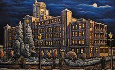 Le Collège St-Louis qui est maintenant l'Université de Moncton.  Que de souvenirs on entendrait s'ils pouvaient parler. Les moments inoubliables dans la mémoire de tout ceux qui sont passé par là comme les étudiants, professeurs et employés de toute sorte sont d'une richesse inestimable