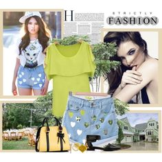 """Summer chic look"" by udobuy on Polyvore"