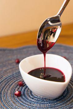 Pomegranate Syrup recipe  #food #pomegranate #glutenfree