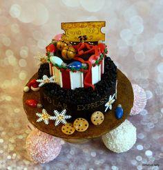 The Polar Express cake (HFTH Collab) by Sweet Dreams by Heba Elalfy