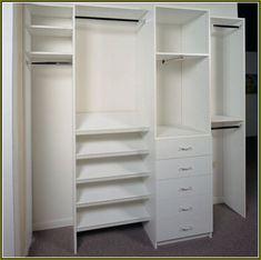 Reach In Closet Organizers Do It Yourself - Best Home Design Ideas ...
