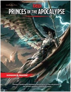 Covers Preview for Elemental Evil Adventurer's Handbook and Princes of the Apocalypse!